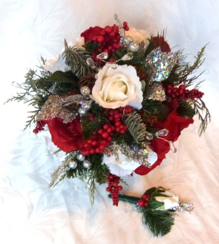 red_and_white_winter_wedding_bouquet_and_boutonniere_holiday_bridal_bo_e260eedf