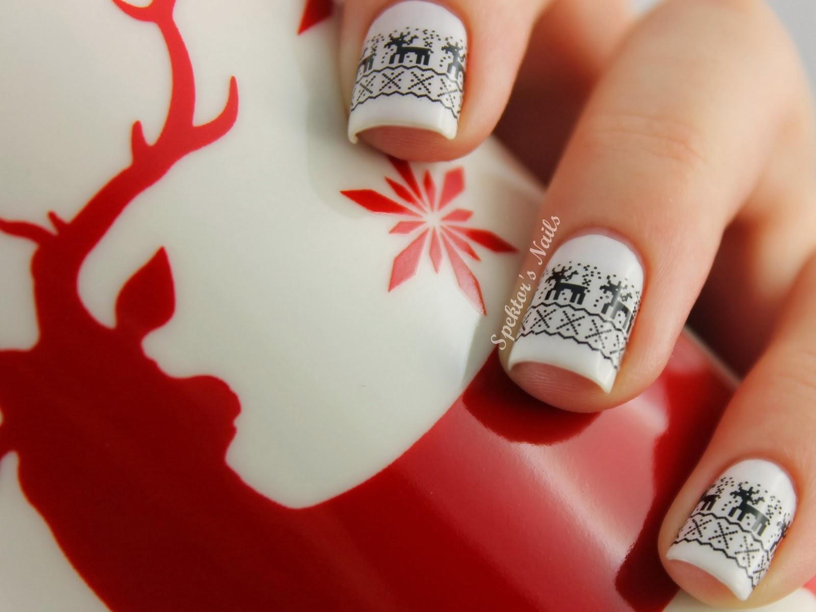 Αποτέλεσμα εικόνας για χριστουγεννιατικα μανικιουρ