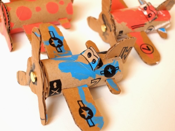 1 Make Cardboard Toilet Roll Planes Dusty Crophopper Skipper