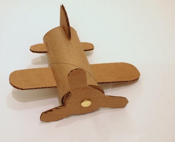 3 Make Cardboard Toilet Roll Planes Dusty Crophopper SkipperP1042504