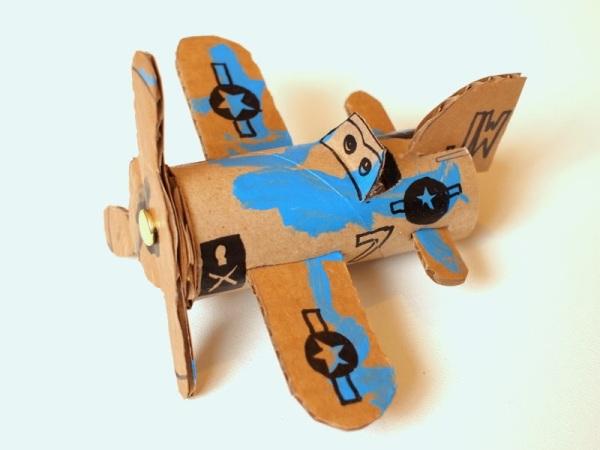6 Make Cardboard Toilet Roll Planes Dusty Crophopper SkipperP1052648
