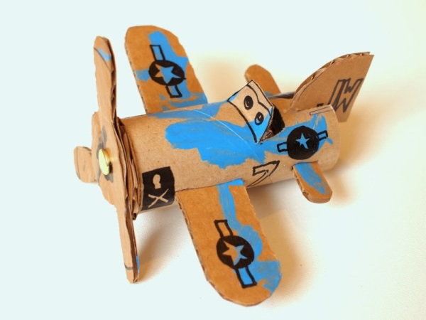6 Make Cardboard Toilet Roll Planes Dusty Crophopper SkipperP1052648