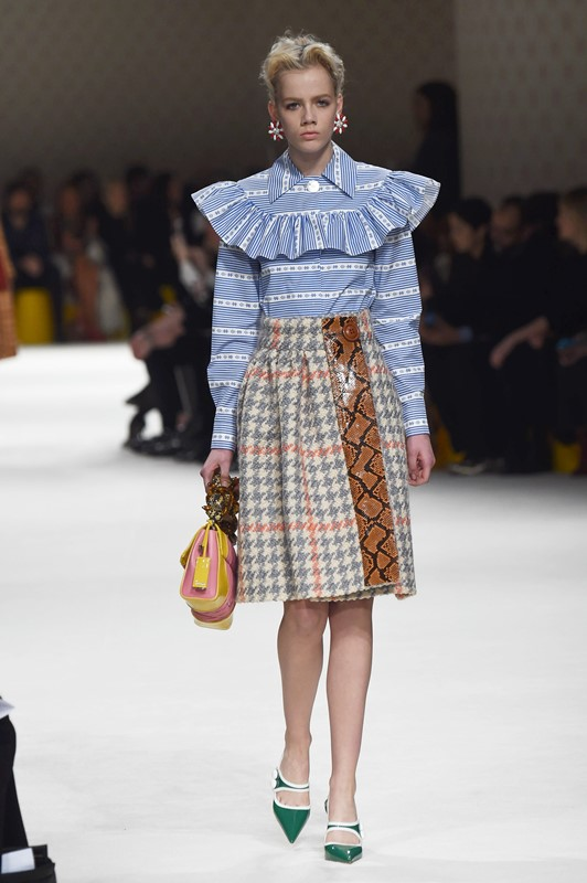 Pixelformula Miu Miu Womenswear Winter 2015 - 2016 Ready To Wear Paris