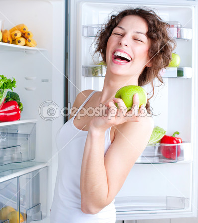 depositphotos_12801040-Beautiful-Young-Woman-near-the-Refrigerator-with-healthy-food