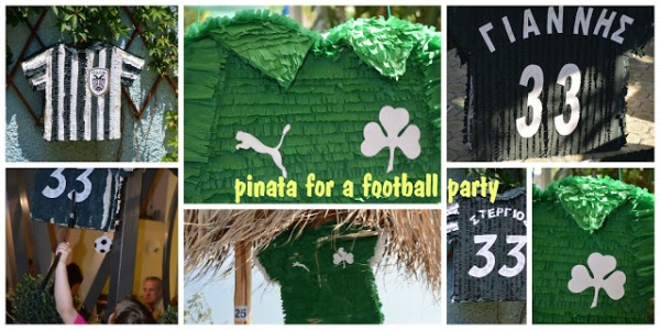 pinata for a football party