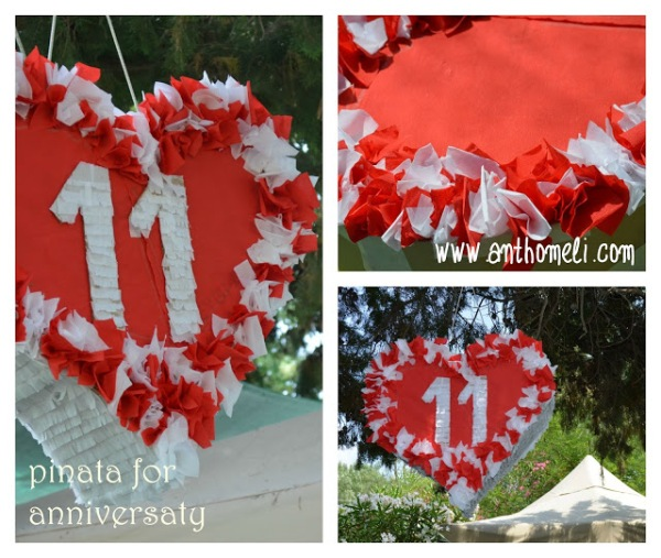 pinata for anniversary