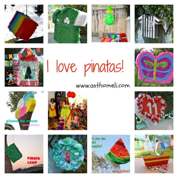 pinatas collage